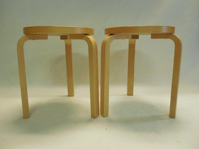 Pair (2) Original Alvar Aalto Design for Artek Tables