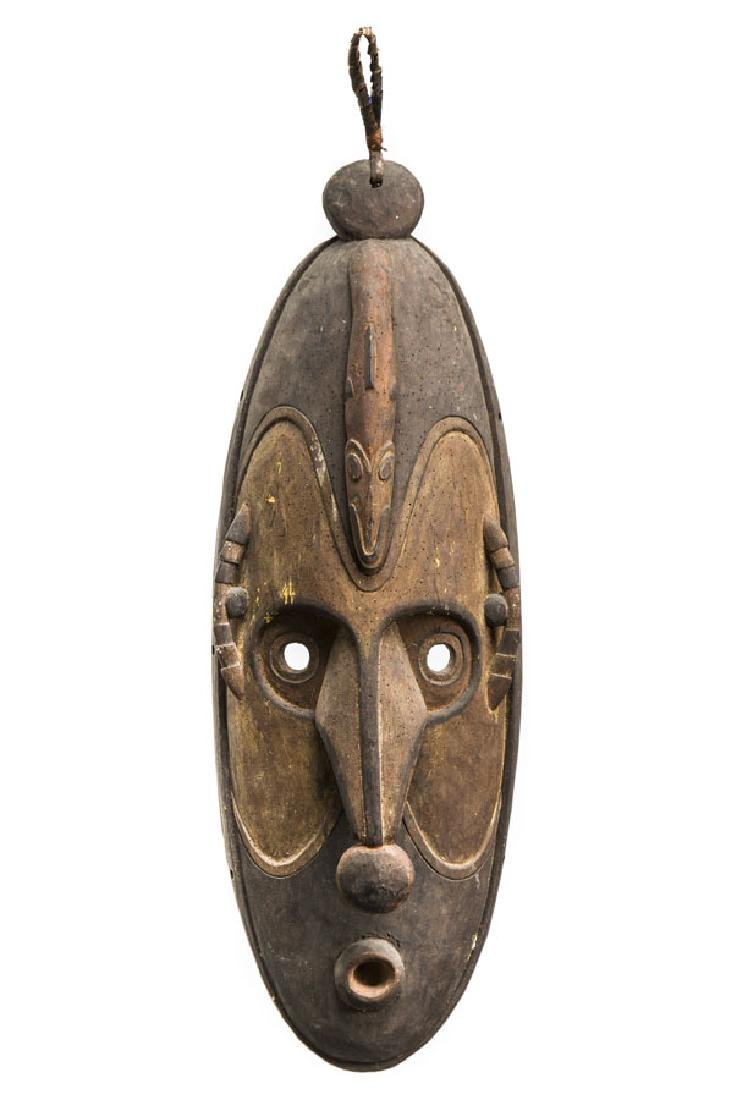 Ceremonial Mask with Totemic Animal - Snake, 2nd half