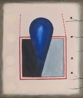 "Stanislaw Fijalkowski (b. 1922) ""21 I 62"", 1962, oil on"