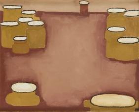 Jerzy Nowosielski (1923 - 2011) Little Yellow Pots,