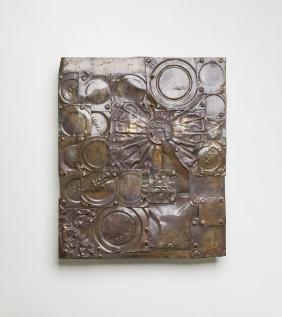 """Krystyn Zielinski (1929 - 2007) """"M 8 64"""", 1964, metal"""