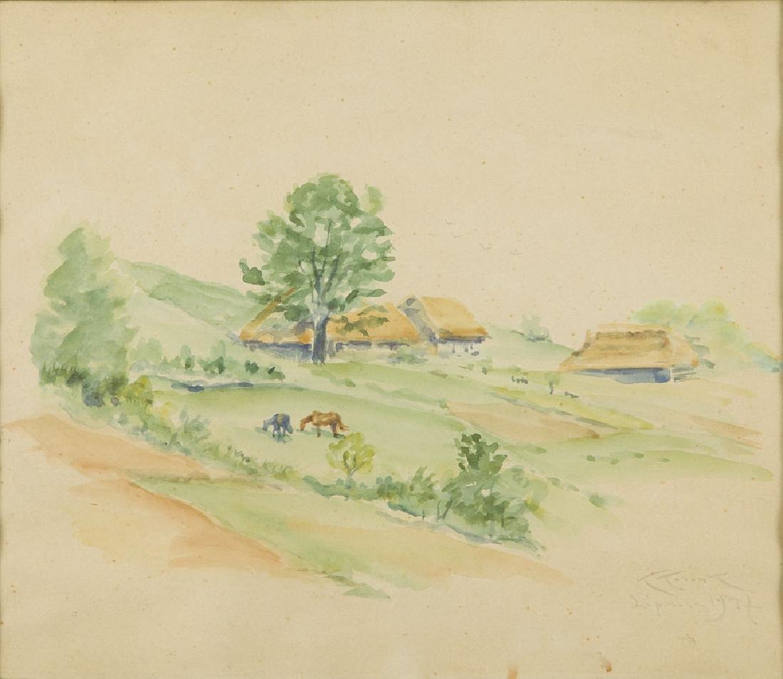 "Karol Kossak (1895 - 1975), ""Lipnica"", 1947,"