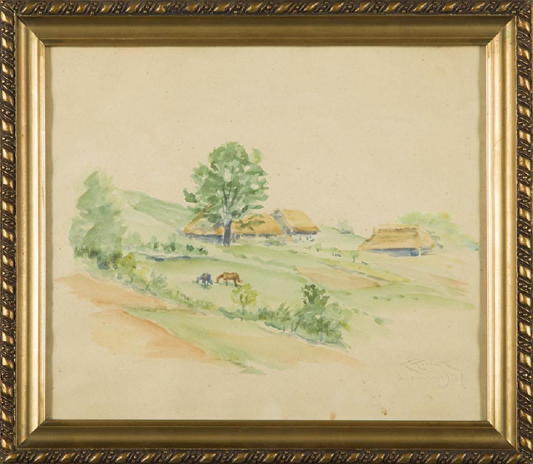 "Karol Kossak (1895 - 1975), ""Lipnica"", 1947, - 3"