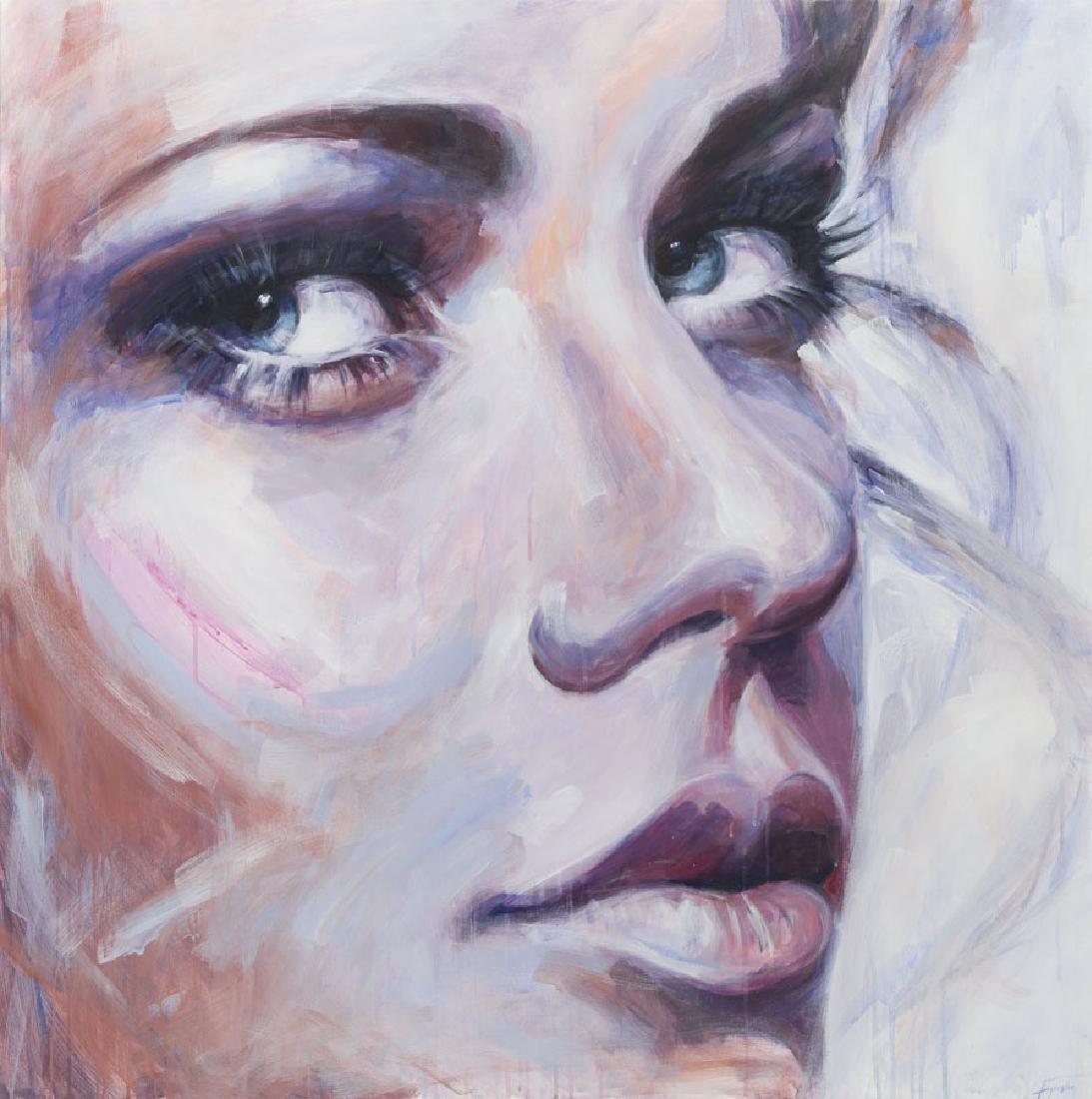 Agnieszka Figurska (b. 1971) Untitled, 2017, acrylic on