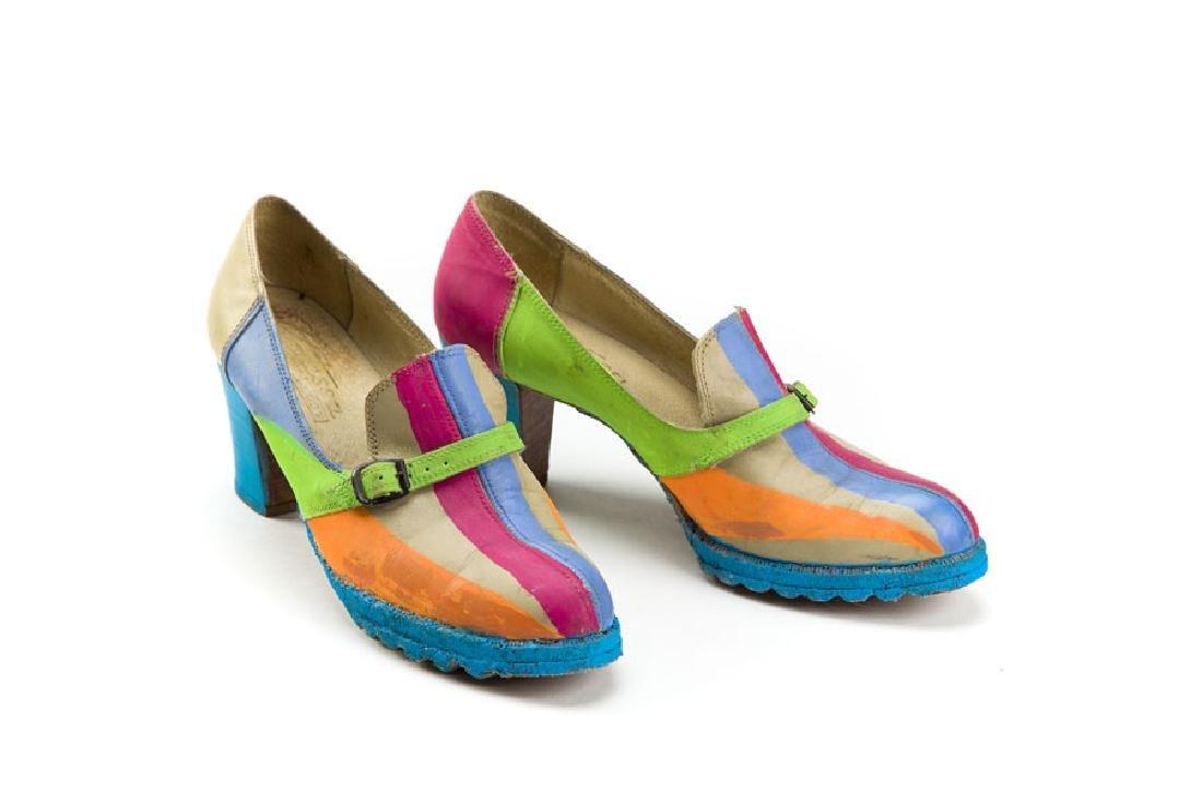 Henryk Stazewski (1894 - 1988) Anda's Rottenberg Shoes,