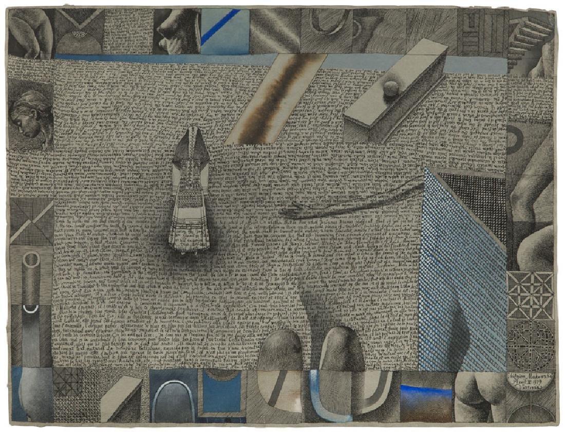 Zbigniew Makowski (b. 1930) Untitled, 1979; gouache on