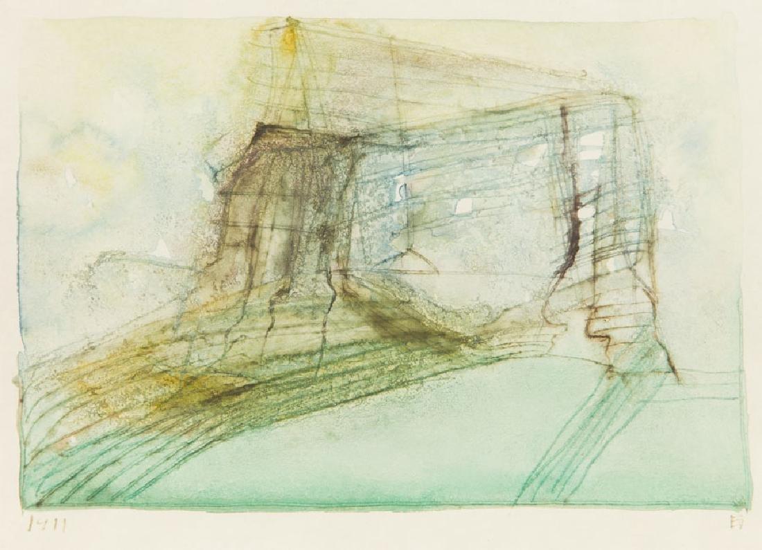 Jerzy Stajuda (1936 - 1992) Composition 1911;
