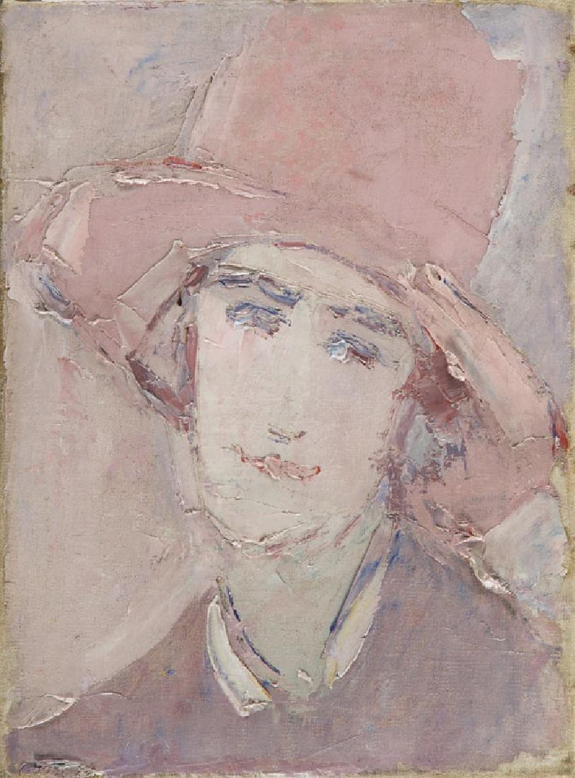 Wlodzimierz Terlikowski (1873 - 1951) Portrait of Woman;