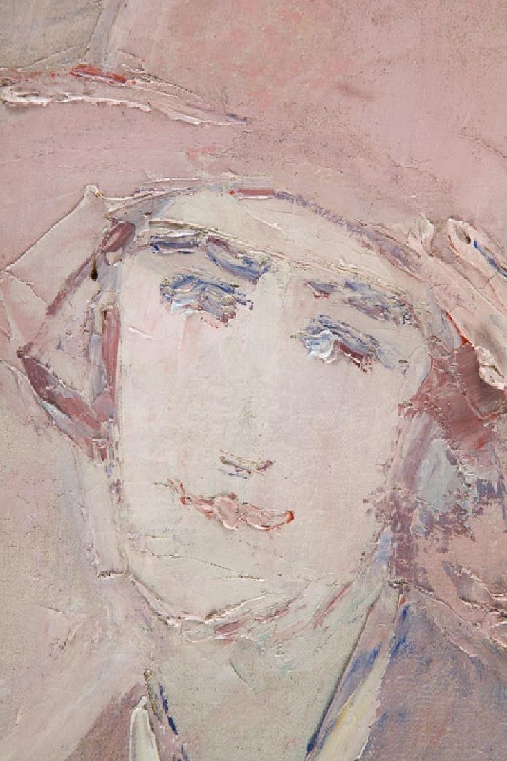 Wlodzimierz Terlikowski (1873 - 1951) Portrait of Woman; - 4