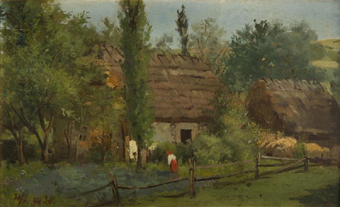 Konstanty Niemczykiewicz (1848 - 1917) Homestead, 1894;