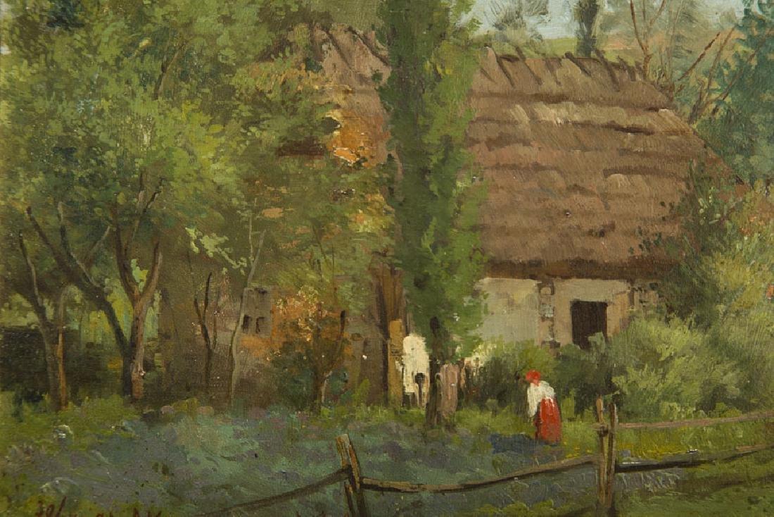 Konstanty Niemczykiewicz (1848 - 1917) Homestead, 1894; - 5