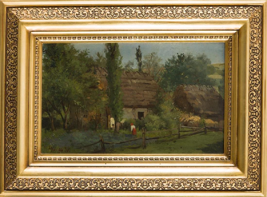 Konstanty Niemczykiewicz (1848 - 1917) Homestead, 1894; - 8