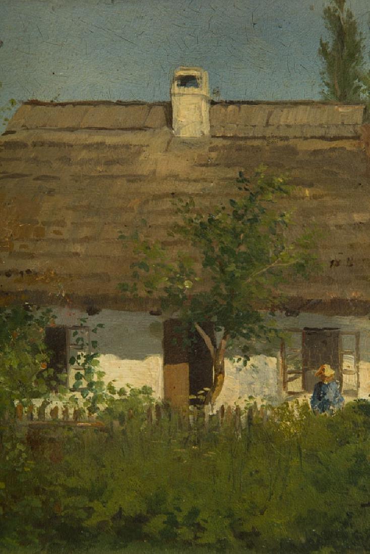 Konstanty Niemczykiewicz (1848 - 1917) Manor House; oil - 7