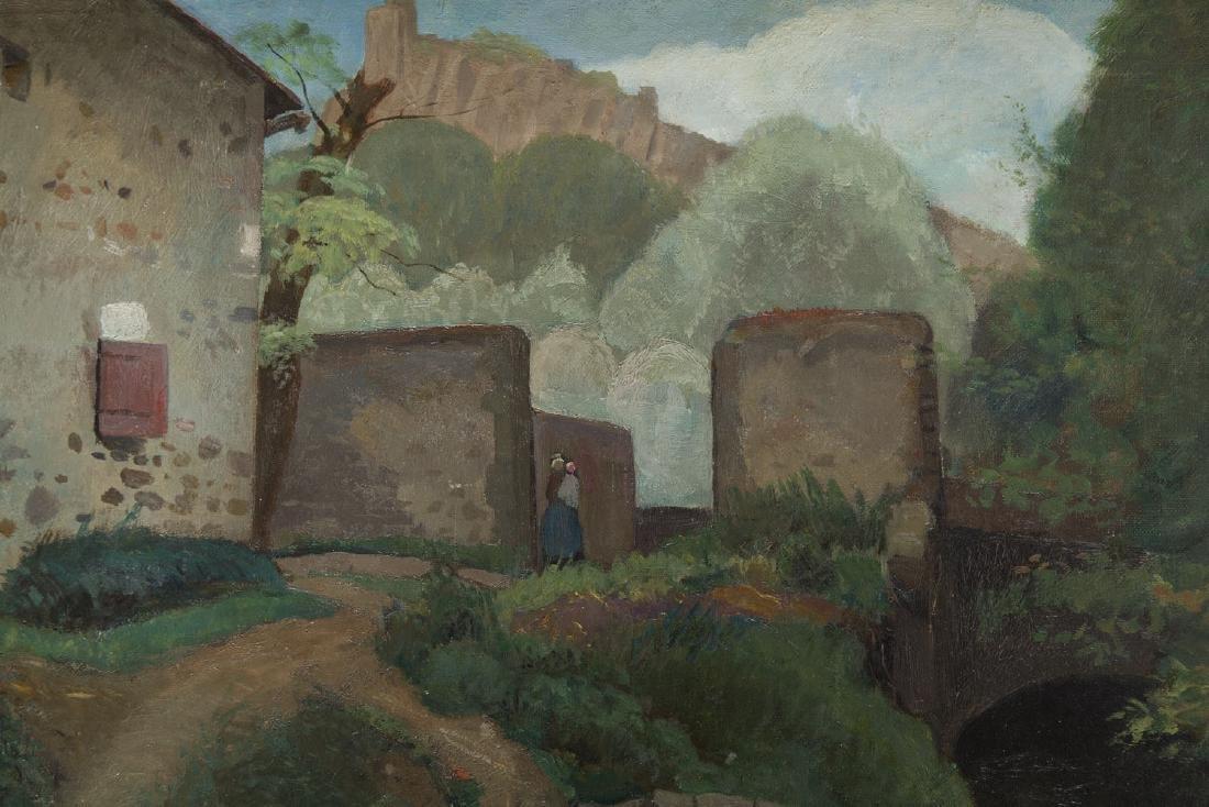 Jacques Gotko (1900 - 1944) Landscape; oil on canvas, - 4