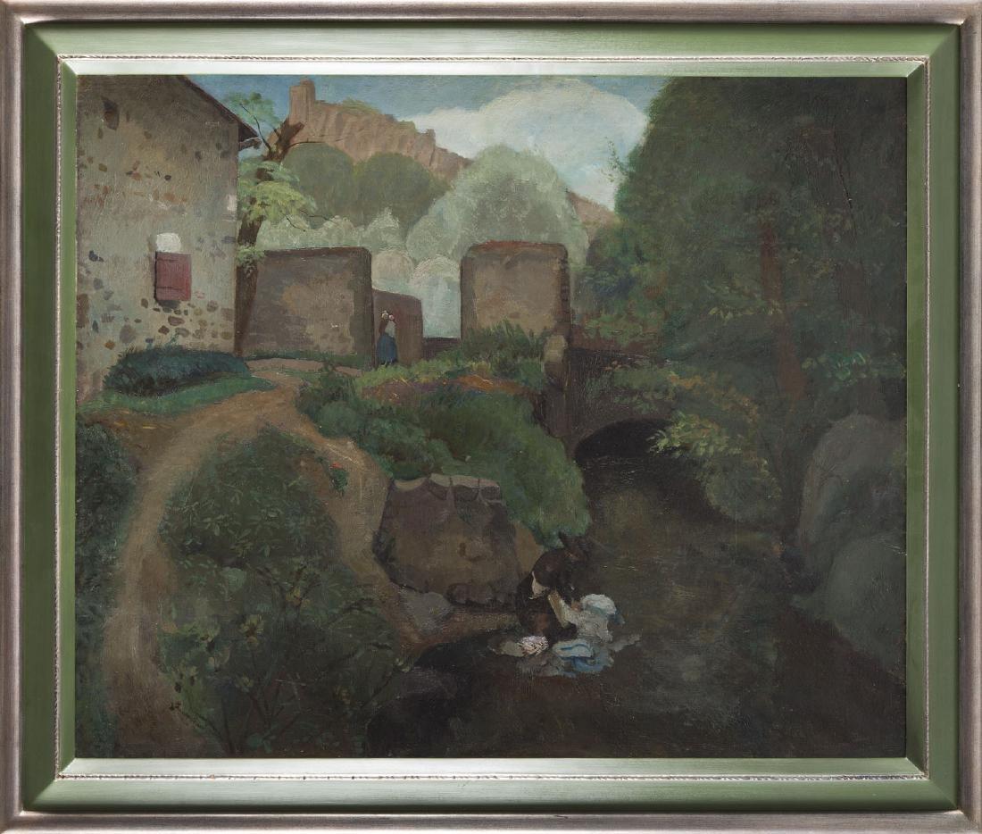 Jacques Gotko (1900 - 1944) Landscape; oil on canvas, - 5