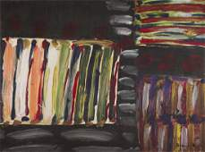 Tadeusz Dominik (1928 - 2014) Composition, 1960's; oil