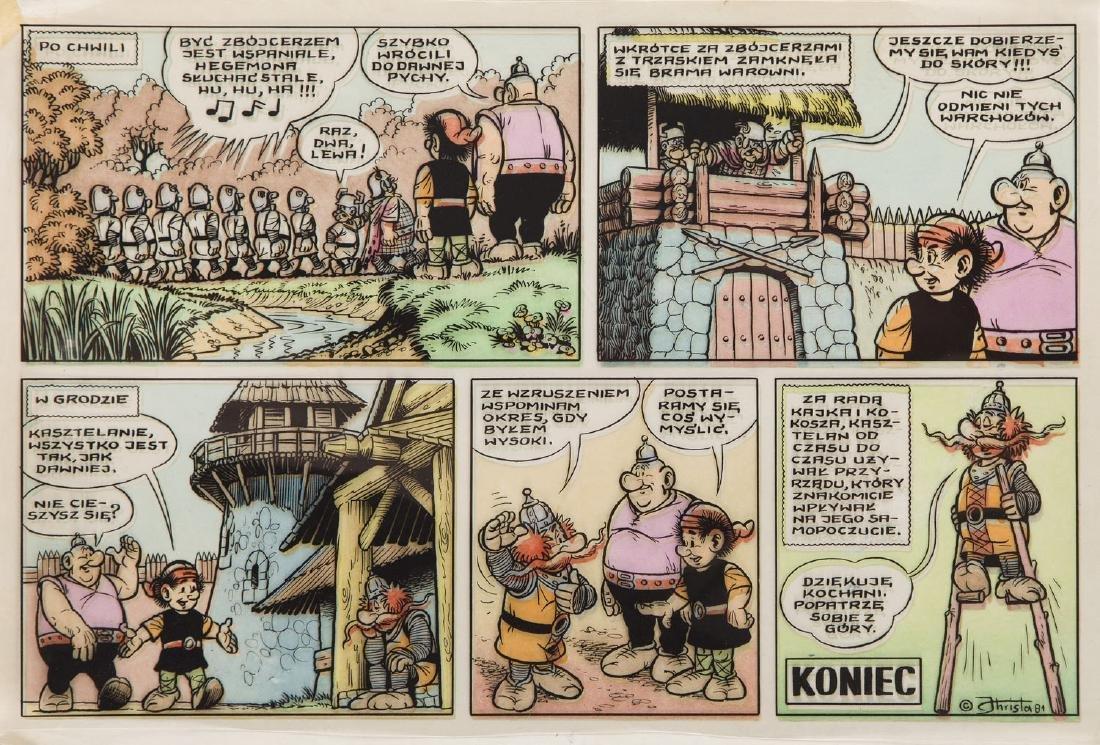 "Janusz Christa (1934 - 2008) ""Kajko i Kokosz"" -"