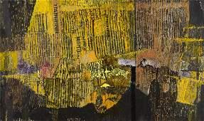 "Jolanta Owidzka (b. 1927) ""Sunny etude"", circa 1965;"