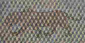 Grzegorz Klimek (b. 1987), Camouflage, 2017, oil on