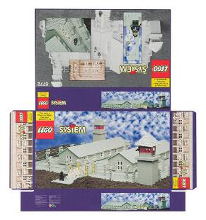 "Zbigniew Libera (b. 1959) ""Lego. Concentration camp"" -"