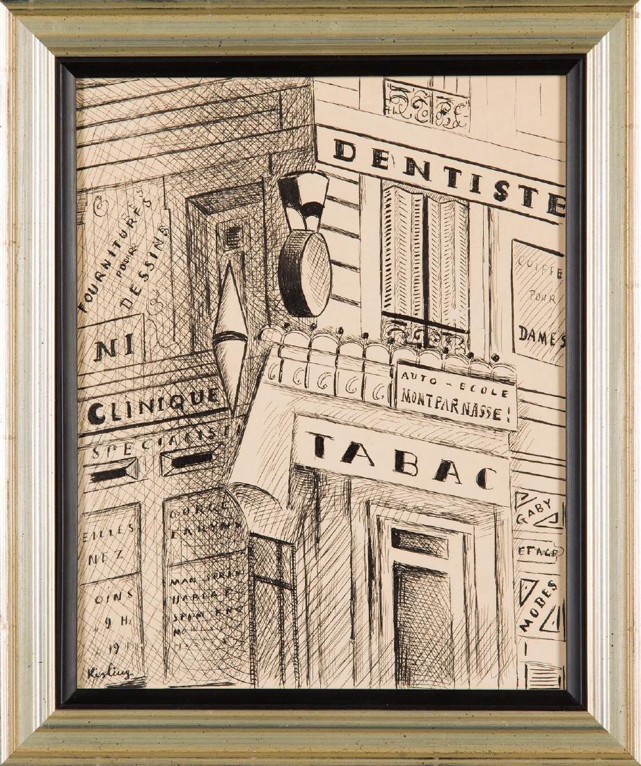 "Mojzesz (Moise) Kisling (1891 - 1953) ""Tabac"" - 4"