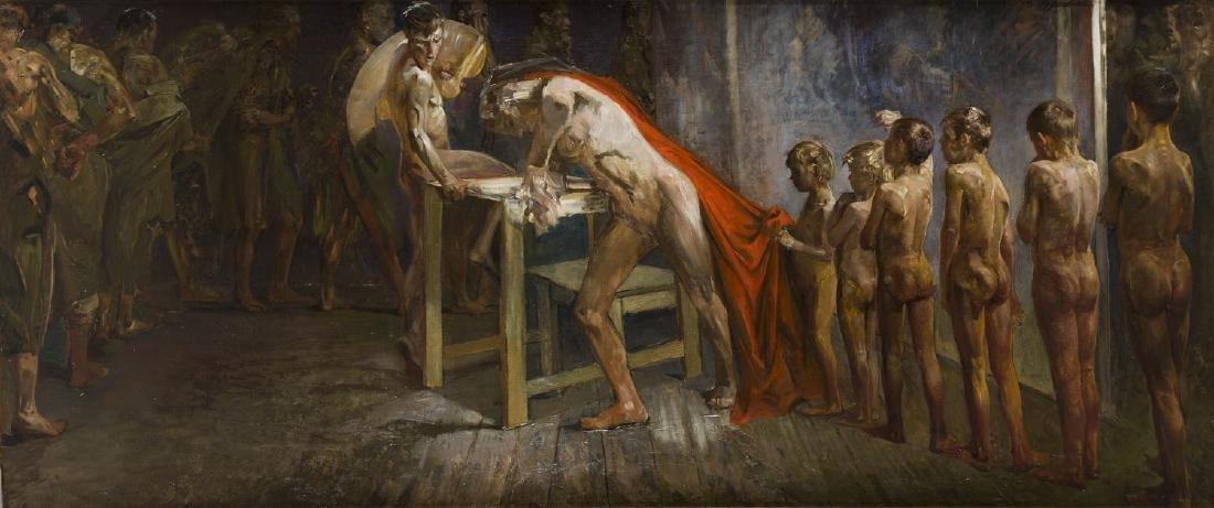 """Jacek Malczewski (1854 - 1929) """"Genius in Artist"""