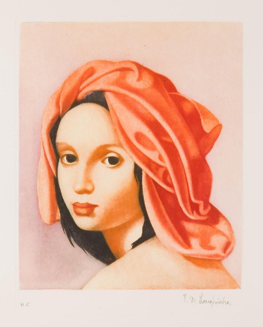 Tamara Lempicka (1895 - 1980) Girl Wearing a Turban