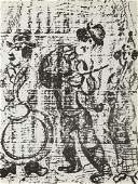 Marc Chagall 1887  1985 The Wandering Musicians