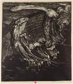 """Krystyna Filipowska (b. 1935) """"Squall II"""", 1979"""