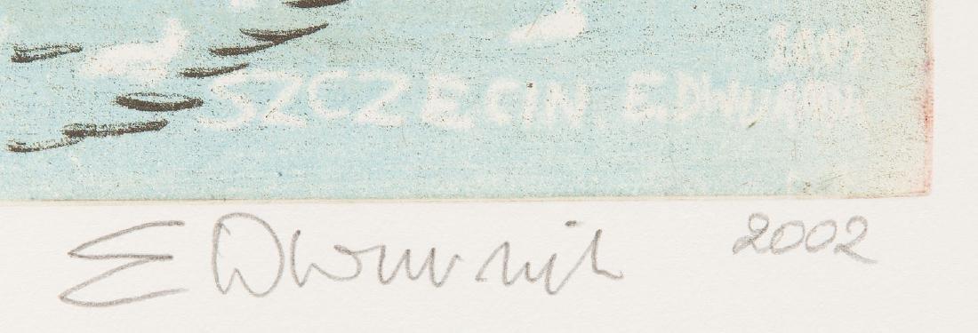 Edward Dwurnik (b. 1943) Szczecin' - 2
