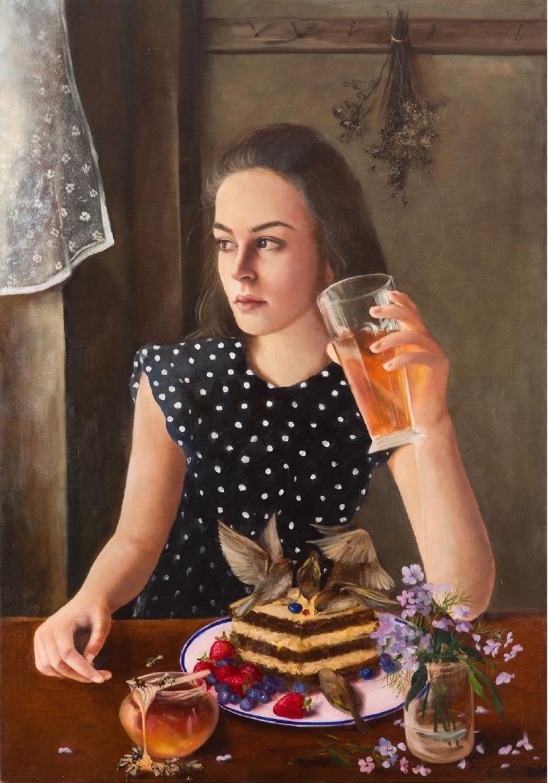 Patrycja Kruszynska-Mikulska (b. 1973) Party, 2016