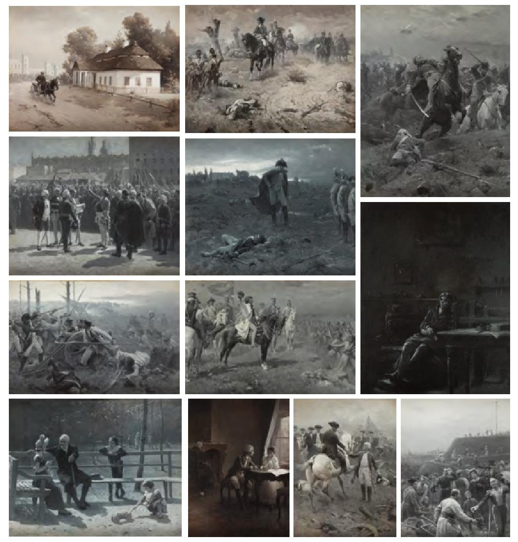 Zygmunt Ajdukiewicz  (1861 - 1917) Cycle of 12