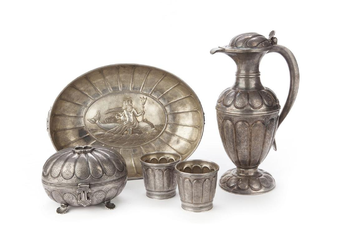 Set of dishes, mid-19th Century, Gdansk