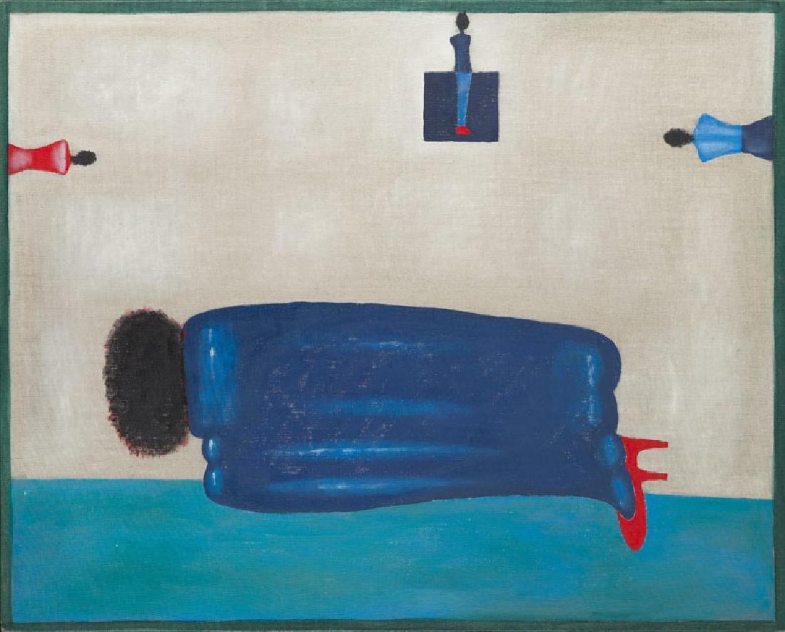Jerzy Nowosielski (1923 - 2011) Memory from Egypt, 1991