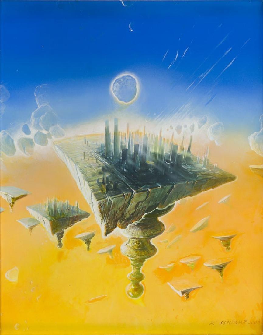 "Wojtek Siudmak (b. 1942) ""Chessboard Fields"", 2000"