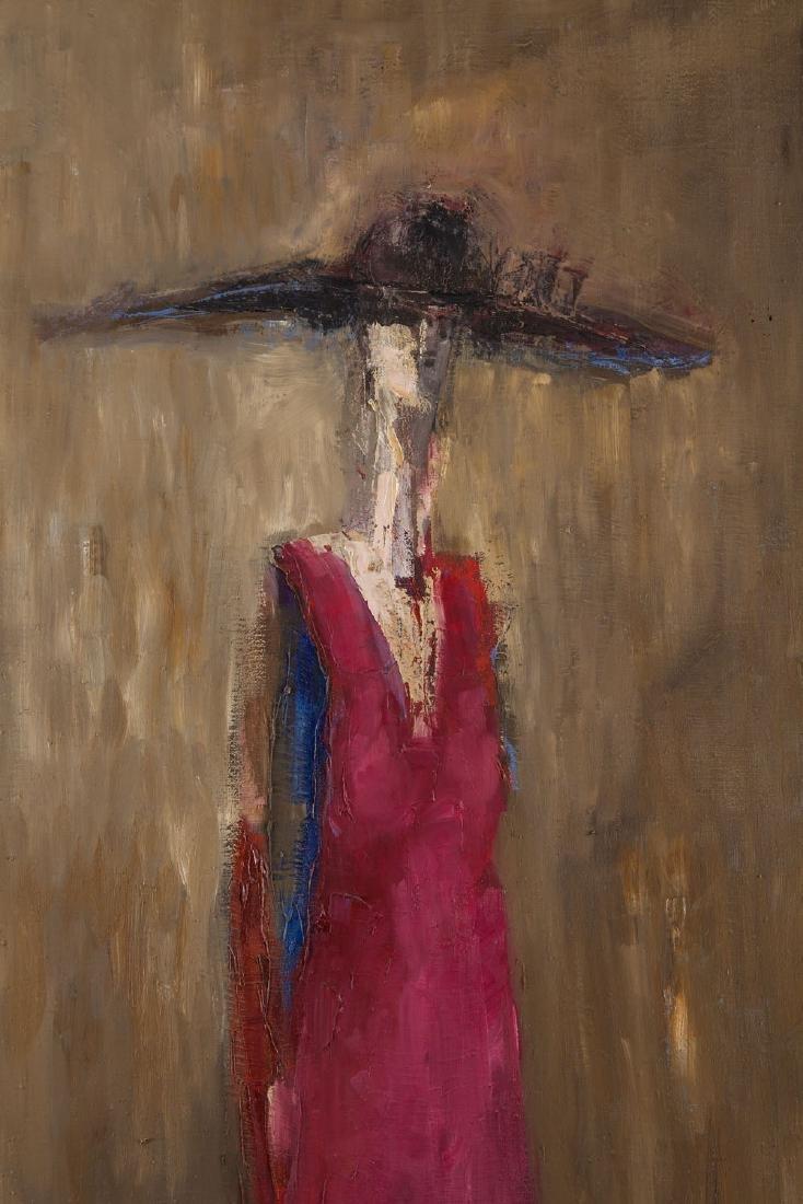 """Daniel Jerzy de Tramecourt (1950 - 2015) """"Woman in a - 5"""