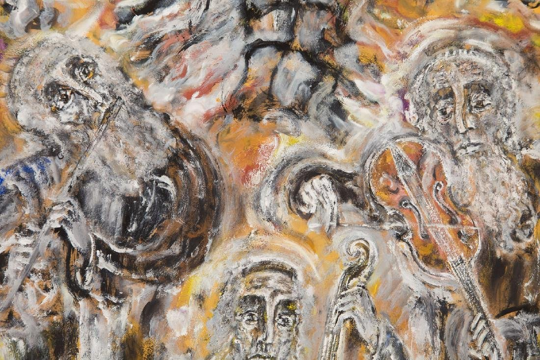 "Zdzislaw Lachur (1920 - 2007) Orchestra from ""Judaica"", - 5"