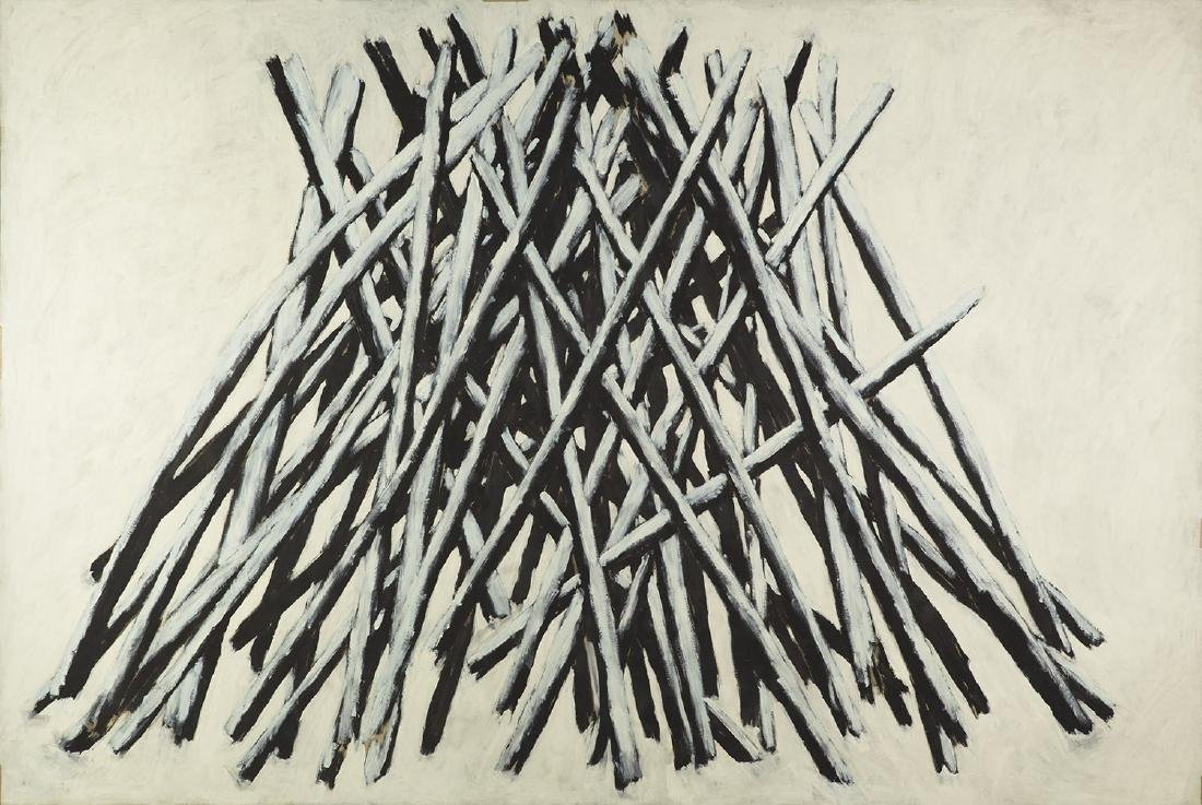 """Tomasz Tatarczyk (1947 - 2010) """"Stack"""" , 1986"""