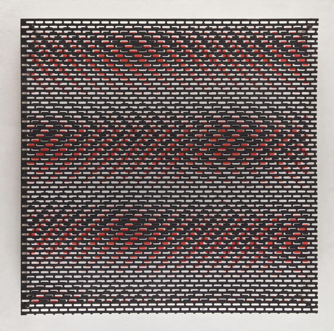 "Antonio Asis (b. 1932), ""Interference"" (No. 27), 1966"