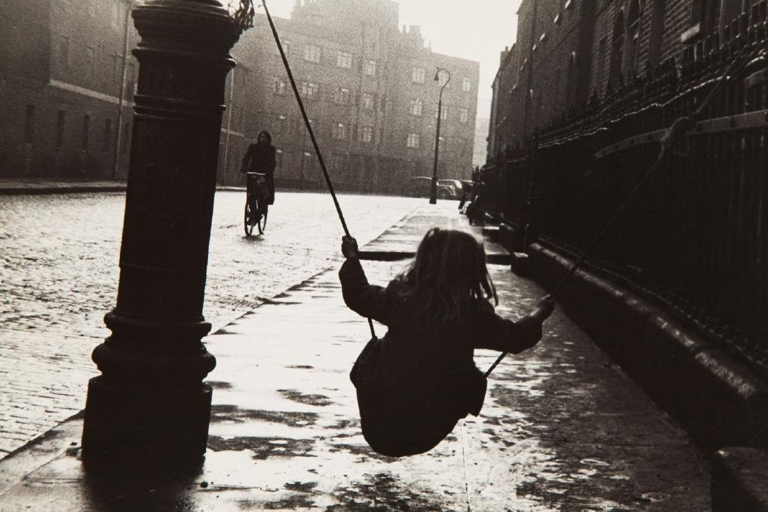Milton H. Greene (1922 - 1985), Girl on a Swing
