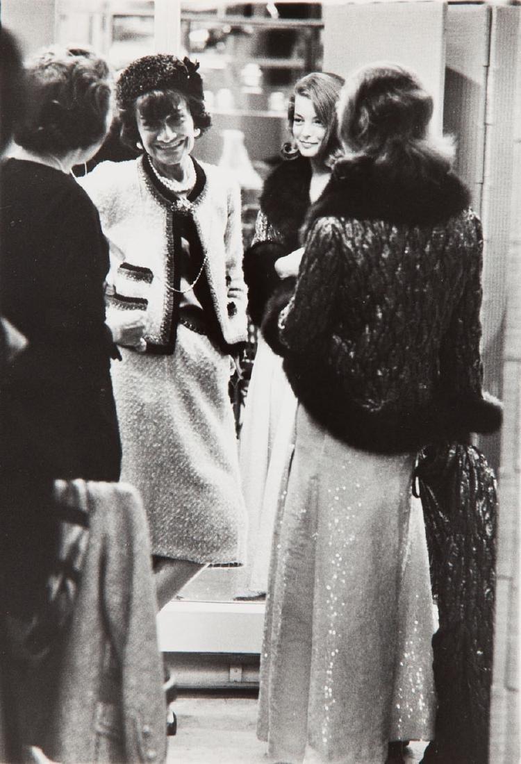 Milton H. Greene (1922 - 1985) Gabrielle Chanel & Romy