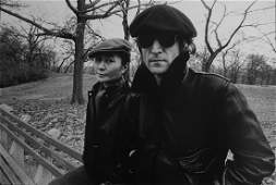 Allan Tannenbaum b 1945 Yoko Ono  John Lennon