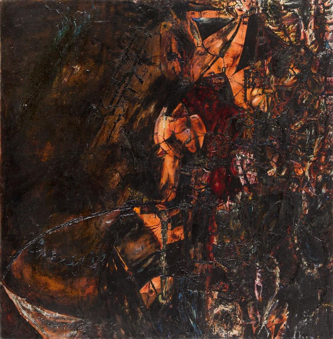 """Tadeusz Brzozowski (1918 - 1987), """"Pretzels"""", 1959"""