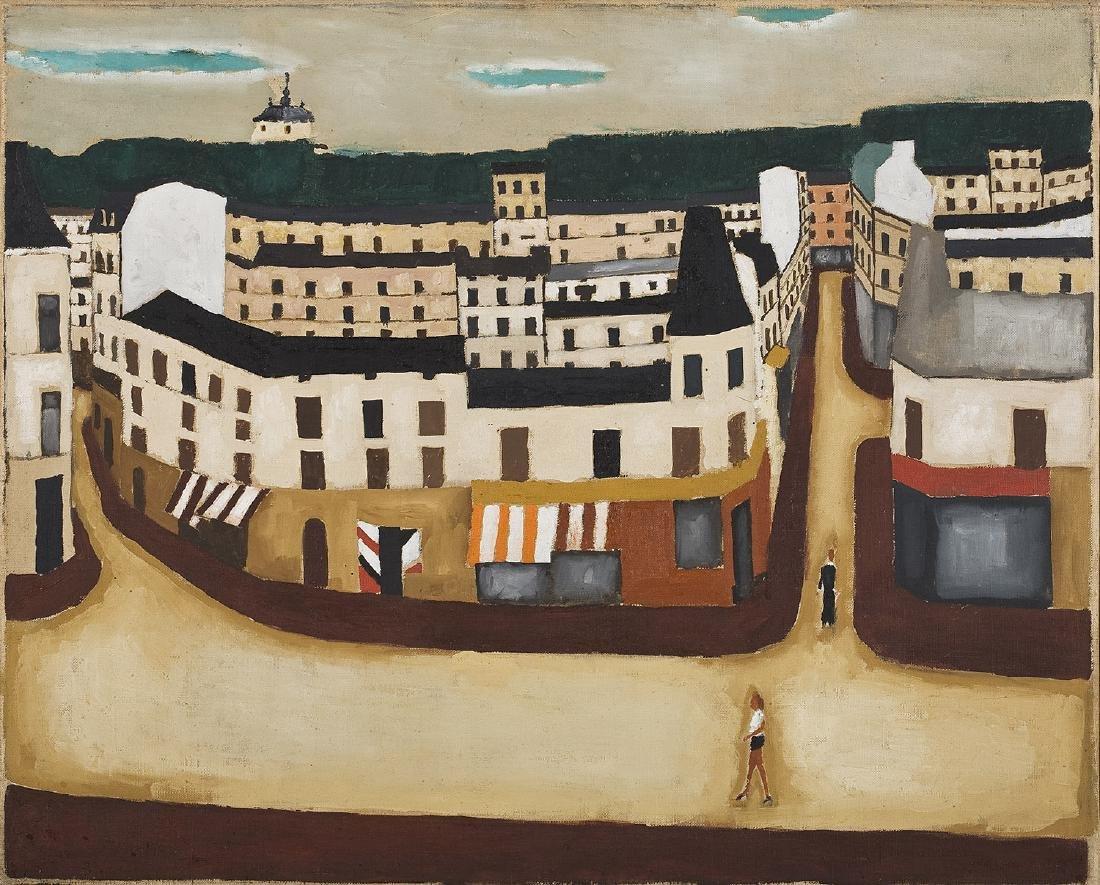 Jerzy Nowosielski (1923 - 2011), City landscape