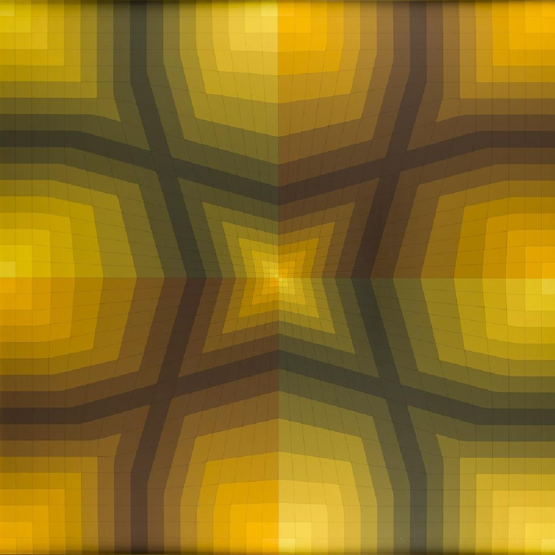 """Victor Vasarely (1906 - 1997) """"Onnca"""", 1986"""
