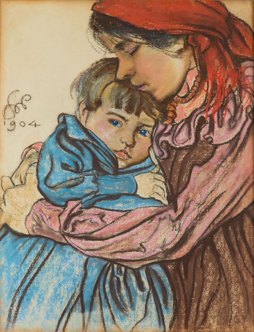 Stanislaw Wyspianski (1869 - 1907) Maternity, 1904