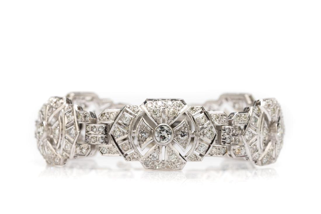 Bracelet art déco, 1930s-40s