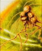 Grzegorz Czechowski (b. 1981), The amber painting V,