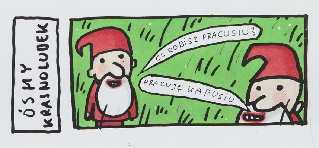 "Marek Raczkowski (b. 1959) ""Osmy krasnoludek"","