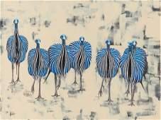 Jolanta Lach (b. 1988), African Guineafowl, 2017